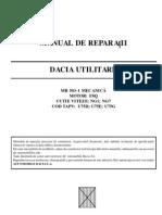 Manual Service Reparatii Dacia Papuc Diesel F8Q Mecanica
