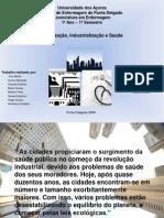 Urbanização, industrialização e saúde
