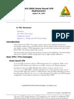 NGX R60 Route Based VPN Deployments