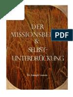 Der Missionsbefehl & Selbst-Unterdrückung