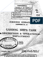 71745470 1944 Combined Operations Pamphlet No 18 Landing Ships Tank Description and Operational Employment