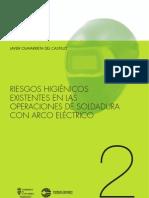 Riesgos Higienicos Existentes en Las Operaciones de Soldadura Con Arco Electrico