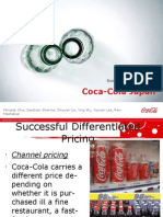 Coca Cola Japan Pricing