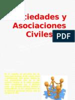 SOCIEDADES Y ASOCIACIÓNES CIVILES