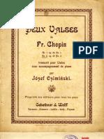 Valses Chopin