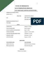2009 MPS & MFT Mediation