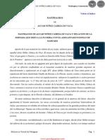 NAUFRAGIOS - ALVAR NUÑEZ CABEZA DE VACA - PortalGuarani