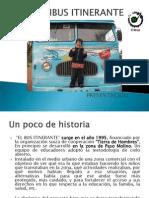 Omnibus Itinerante Presentacion