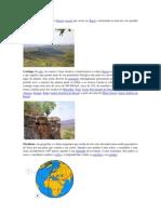 Cerrado é um bioma do tipo biócoro savana que ocorre no Brasil