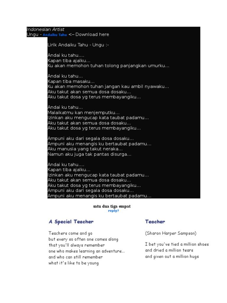Download Lagu Ungu Ku Inginkan Kau Diri Ku Di Sini Menanti Ditlrimu Mp3 Tahu Dotcomlasopa