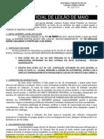 Catalogo Oficial de Leilao Particular Maio 2012