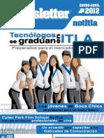 ITLA Newsletter - Boletín enero-abril 2012