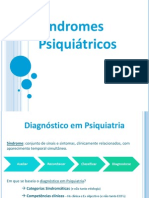 Síndromes Psiquiátricos