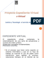 Proyecto Expediente Virtual / e-Virtual