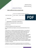 teoría COMPOSICIÓN ARQUITECTÓNICA