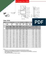 ASME B16.47 SeriesB API 605 Flanges Class 150lbs