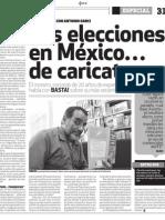 La pendejísima historia de las elecciones en México de Antonio Garcí en el periodico Basta