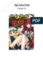 High School DxD Volume 01
