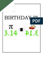 Birthday Pi