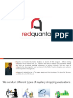 RedQuanta - Mystery Audit Specialist
