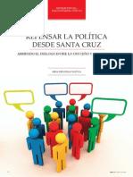 Repensar la Política desde Santa Cruz