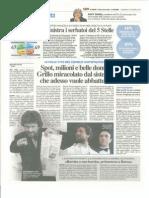 Beppe Grillo - IL GIORNO 27 Maggio 2012