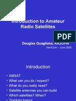 Introduction to Amateur Radio Satellites