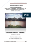 Evaluación de Impacto Ambiental puente