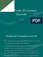 Long Term, Economic Growth