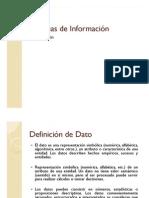 Sistemas de Información - Información