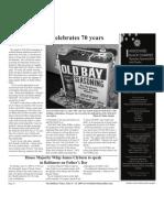 Old Bay Celebrates 70 Years