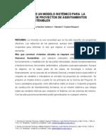 Concepción de Asentamientos Sostenibles