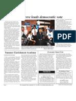 Zina Pierre Leads Democratic Vote
