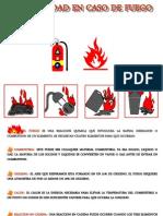 La Seguridad en Caso de Fuego