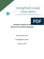 Chromium Economic Analysis 0