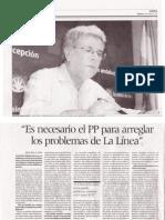 Entrevista al concejal del Partido Andalucista Juan Carlos.Villalba en Diario Área 26-05-12