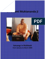 Advaita Satsangs With Sri Swami Muktananda Maharaj
