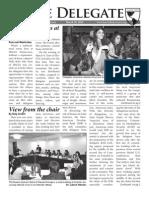 [HACIA 2012] the Delegate Issue 2