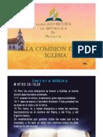 La Comisión de la Iglesia
