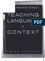 Teaching Language in Context - Chpt 2