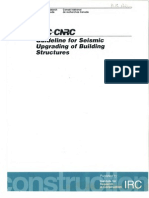 NRC Guidelines for Seismic Upgrading of Building Structures