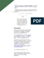 Un número cuadrado perfecto en matemáticas