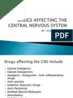 Drugs Affecting the Central Nervous System