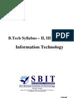 B.tech MDU Syllabus (IT)
