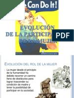 EVOLUCIÓN DE LA PARTICIPACIÓN DE LA MUJER (1)