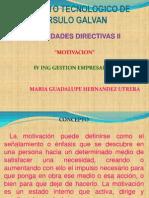 des Directivas II Motivacion