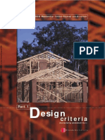 As 1684.1-1999 Residential Timber-framed Construction Design Criteria