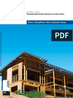 As 1684.4-2010 Residential Timber-framed Construction Simplified - Non-Cyclonic Areas