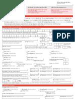 HSBC Credit Card Application FO