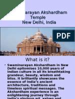 an Akshardham Temple in New Delhi, India